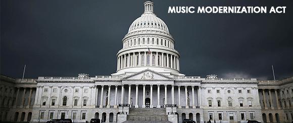 GPS Supports: The Music Modernization Act