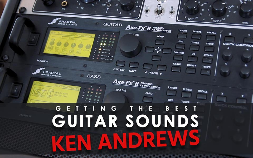 Ken Andrews - Guitar Sounds