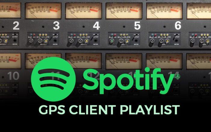 GPS Client Playlist on Spotify