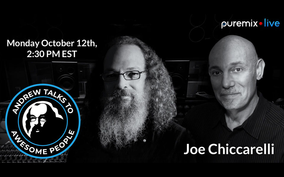 Joe Chiccarelli with Andrew Scheps on PureMix Live