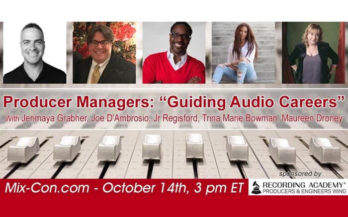 "Recording Academy Producer Wing ""Producer Managers"" Panel"