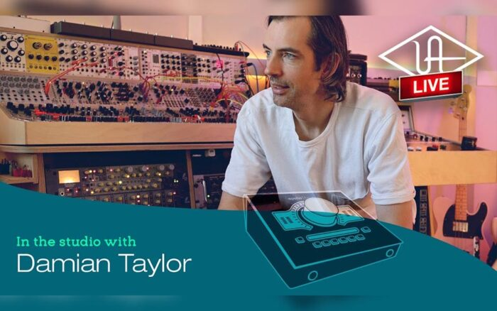Damian Taylor with Universal Audio