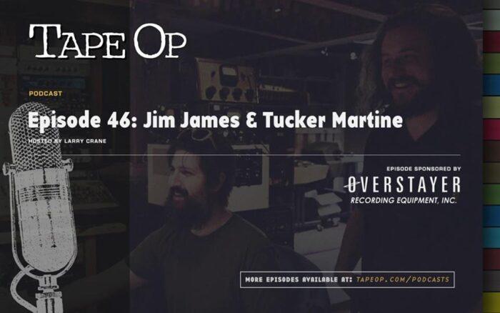 Tape Op - Tucker Martine