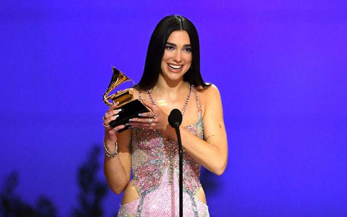 Dua Lipa wins Grammy Award 2021