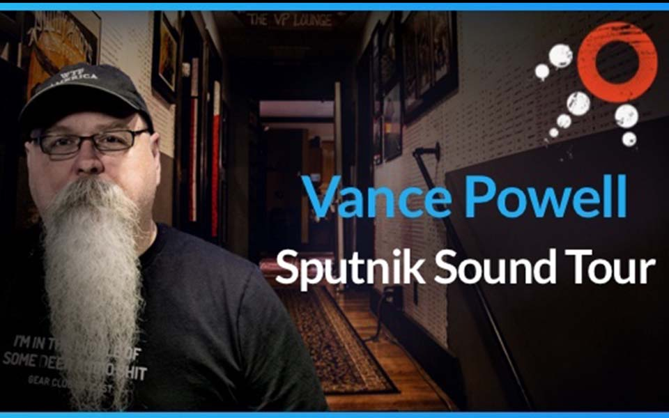 Vance Powell Sputnik Sound Tour